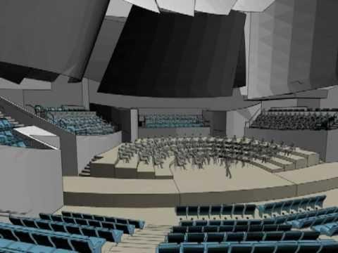 New World Center animation