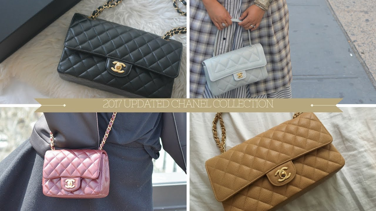 Updated Chanel Bag Collection 2017