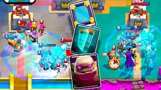 NEW TROLL 'GOLEM CLONE' DECK... THANKS ASH!! [Clash Royale Nickatnyte]