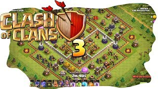 Clash of Clans - CoC - RH11 vs RH11 drei Sterne Raid [Let's Play Full HD Deutsch]