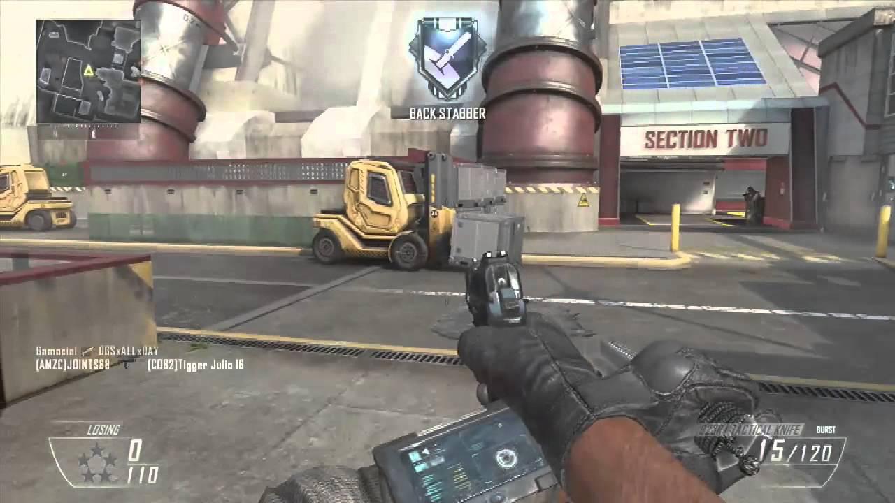 Black Ops 2 Gun Game Knife Troll On Hydro