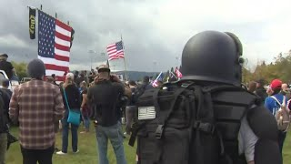 Proud Boys Hate Group Fails To Draw Thousands To Portland | MSNBC