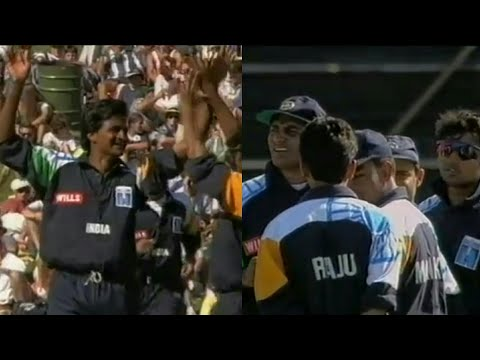 *RARE* Javagal Srinath Brilliant Wicket Taking Bowling Performance vs New Zealand | 1995