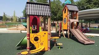 Bellevue Downtown Park // Inspiration Playground // Seattle with Kids // CloudSeven Adventure
