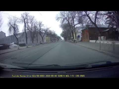 Появилось видео момента аварии с пострадавшими на улице Некрасовской