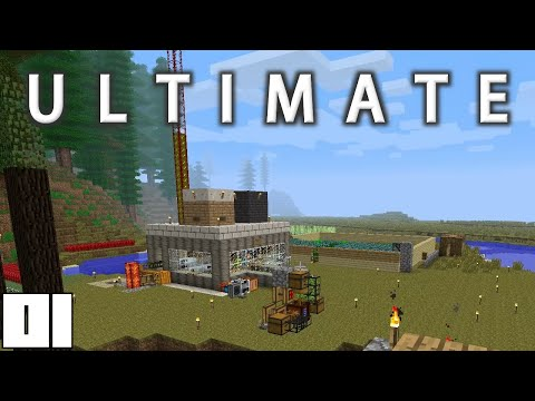 Minecraft Mods FTB Ultimate - NO MORE RESTARTS !!! [E01] (HermitCraft Modded Server)