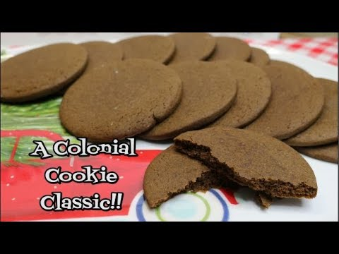 Joe Frogger's Spiced Molasses Cookies ~ Virtual Cookie Exchange ~ Noreen's Kitchen