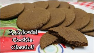 Joe Frogger's Spiced Molasses Cookies ~ Virtual Cookie Exchange ~ Noreen's Kitchen