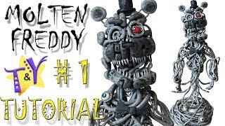 Как слепить Молтен Фредди ФНАФ 6 Туториал 1 Molten Freddy FNAF 6 Tutorial 1