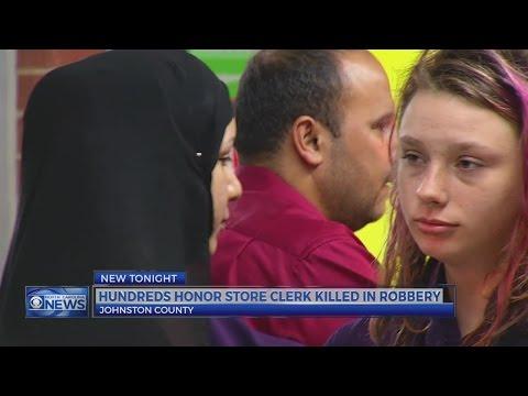 Johnston County community gathers to mourn slain clerk