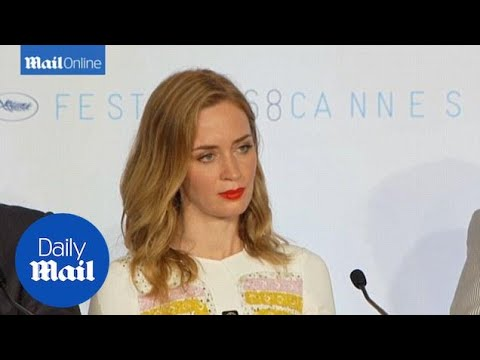 Emily Blunt: 'Cannes red carpet heels rule very disappointing' - Daily Mail