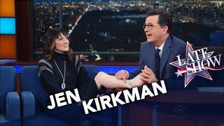 Stephen Redesigns Comedian Jen Kirkman