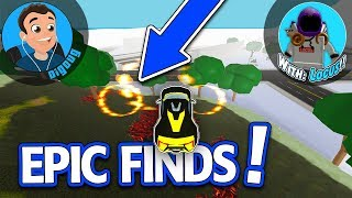 Locus and I find some Awesome Map Secrets in Roblox Vehicle Sim!