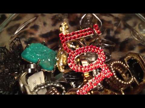 Fashion jewelry ring collection part 1