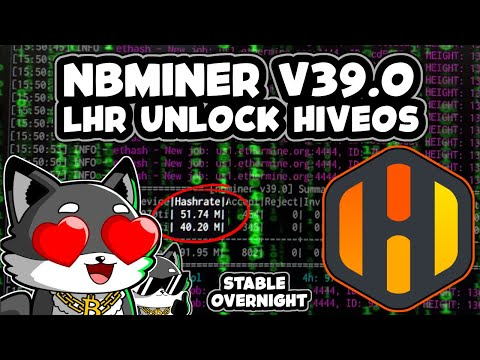 RTX LHR NBMiner UNLOCK in HIVEOS | New V39.0 NBMiner Hack