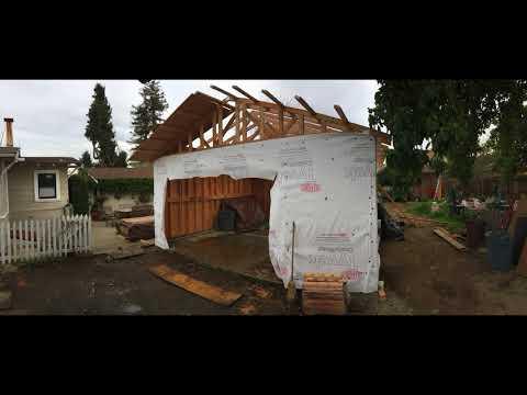 Garage Construction -start to finish- San Leandro CA