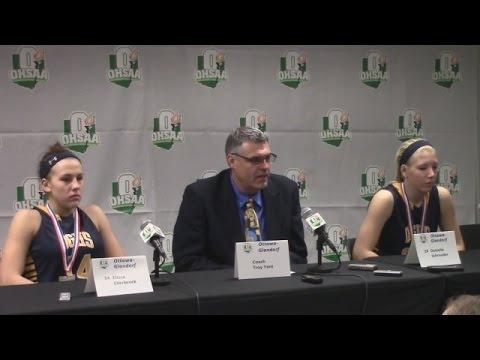 Ottawa Glandorf vs  Versailles press conference