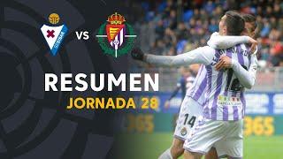 Resumen de SD Eibar vs Real Valladolid (1-2)