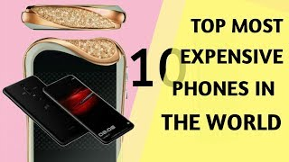 TOP 10 Most Costly[Expensive] Phones In The World