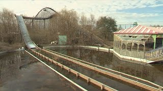 A Look At Six Flags New Orleans After Hurricane Katrina Forced It To Close