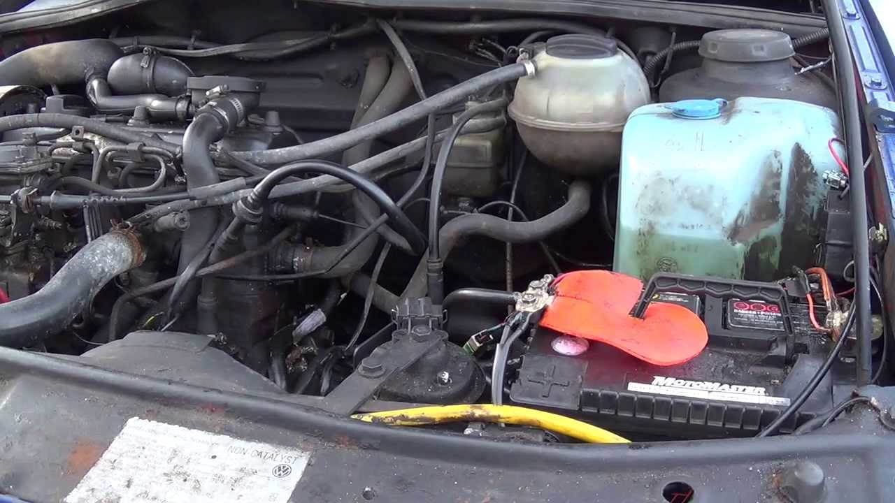 Fixing the Starter and Ground Wires on my VW  YouTube