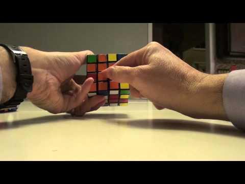 Lanlan 4x4 Rhombic Dodecahedron Walkthrough:  How