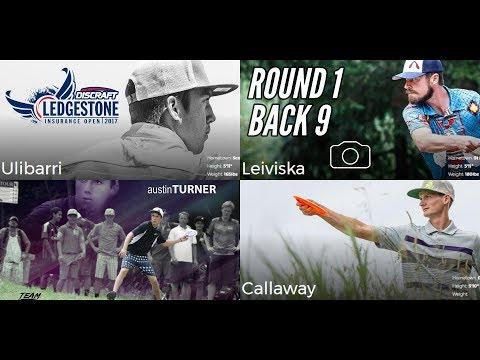 2017 Ledgestone Open: Round 1, Back 9 (Turner, Ulibarri, Leiviska, Callaway)