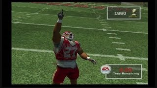 MADDEN NFL 2007 PS2 GAMEPLAY: THE RUNNING GAME: