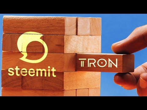 Justin Sun Announces New Tron and Steemit Partnership