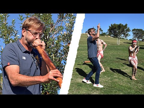Klopp in Sydney | Jürgen tries dancing, the didgeridoo and throwing a boomerang