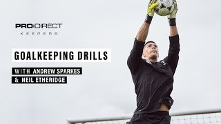 Goalkeeping Training Drill with Cardiff City's Neil Etheridge & Andrew Sparkes
