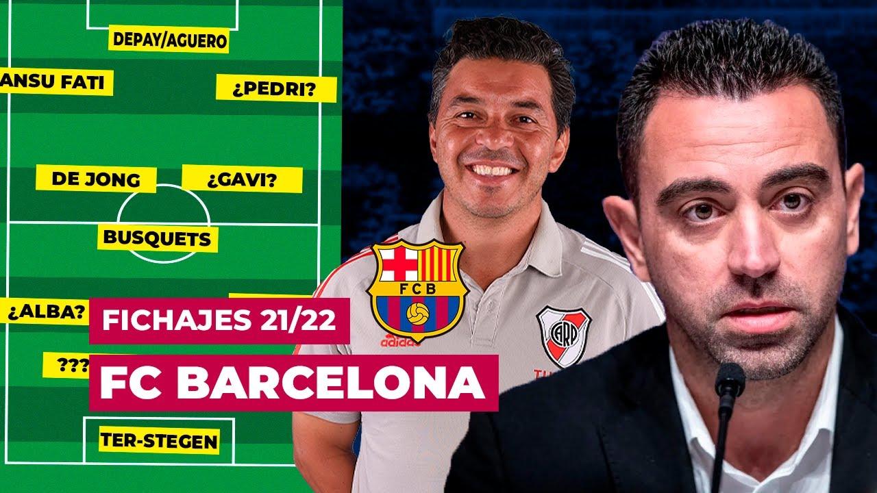 FICHAJES que debe hacer FC BARCELONA - Mercado de Fichajes Enero 2022