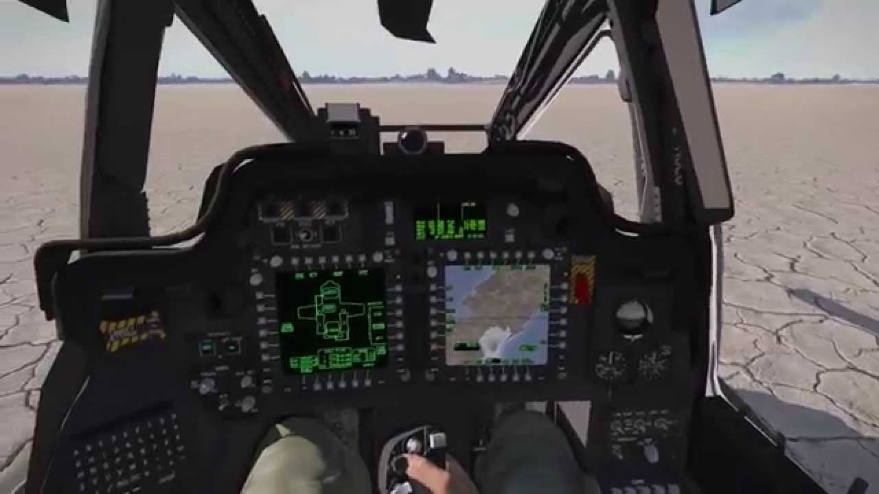 How To Display Map In Cockpit Screen Ah 64d Apache