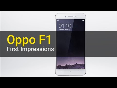 Oppo F1: First Impressions
