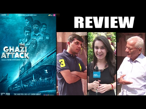 The Ghazi Attack Public Review - Rana Daggubati,Kay Kay Menon,Taapsee Pannu,Om Puri