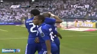 The 3th goal by Wesley in Al-Hilal - Al Nasr ( 3 - 1 ) 2017 Video