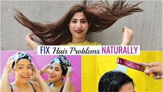 FIX All Your HAIR PROBLEMS Naturally ... | #HerbalEssences #Haircare #Hacks #Anaysa