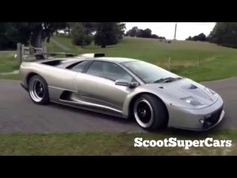 Vicki Butler-Henderson Lights Up a Lamborghini Diablo GT at Salon Prive
