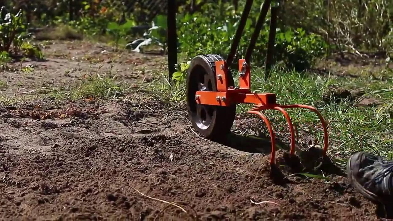 Cultivador manual youtube - Aperos para motoazada ...