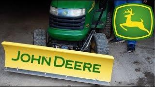 Operating a John Deere 46