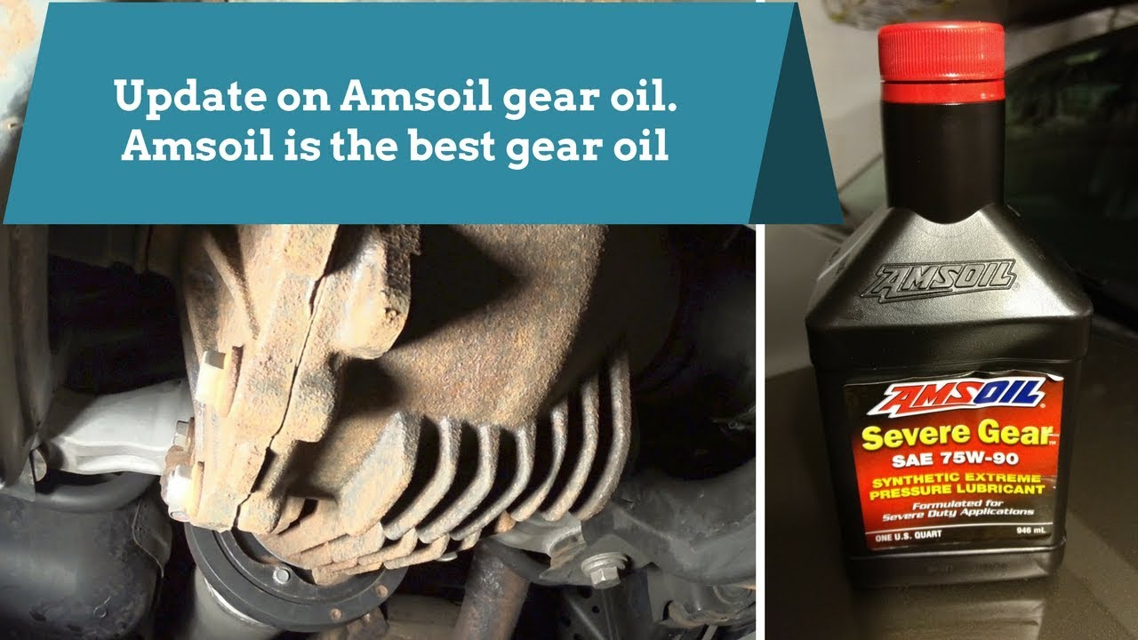 Update on Amsoil gear oil and what a difference it made on ride and MPG
