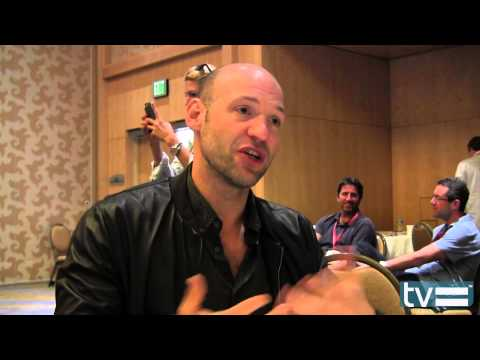 Corey Stoll Interview - The Strain (FX)