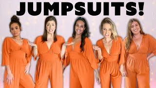 5 Women Try The Same Jumpsuits! [Fashion Nova, ASOS & More!]
