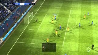 PES 2013 FL UEFA C' League QF 2nd leg Wigan Athletic vs. FC Barcelona 2nd Half HD gameplay