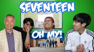 Video SEVENTEEN - OH MY! MV REACTION (FUNNY FANBOYS) download MP3, 3GP, MP4, WEBM, AVI, FLV Juli 2018