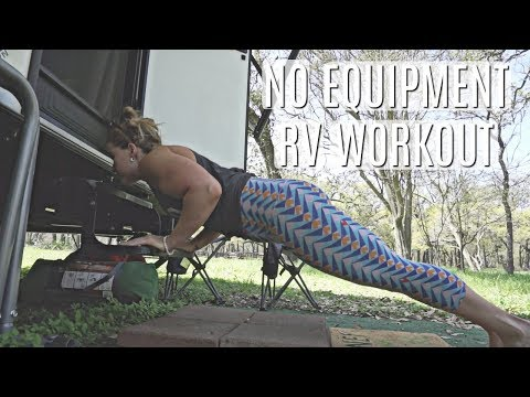 TRY THIS ON THE ROAD! RV WORKOUT // FITNESS FRIDAY