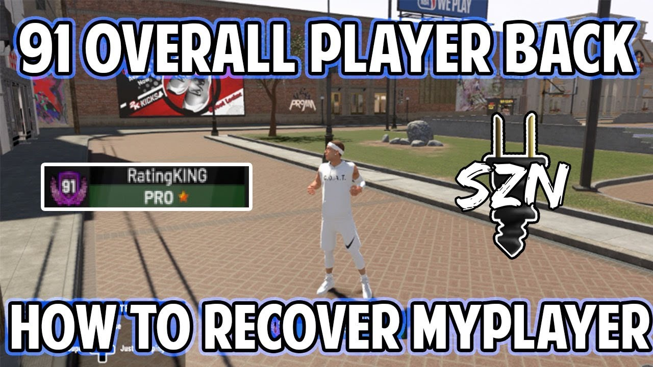NBA 2K19 SHARPSHOT PLAYER BACK AND REFUNDED 30K VC AFTER BAN! HOW TO  RECOVER MYPLAYER FILES!