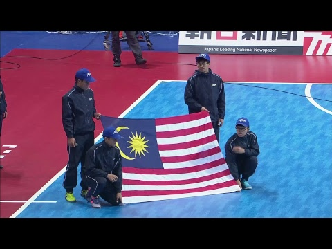 Malaysia vs Bahrain (AFC Futsal Championship 2018: Group Stage)