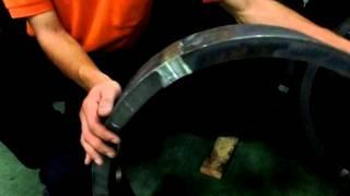 菱光産業の冷間曲げ溶接リング