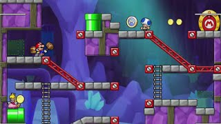 Mario Vs. Donkey Kong: Tipping Stars - Bonus Levels 1-8 100% Walkthrough